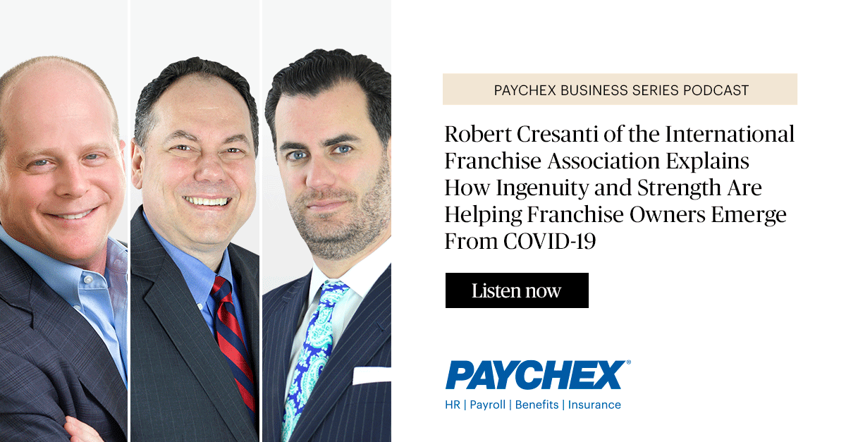 Matt Haller and Robert Cresanti Paychex Podcast