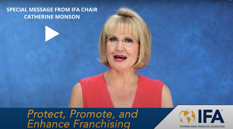 Special Message from IFA Chair Catherine Monson #12