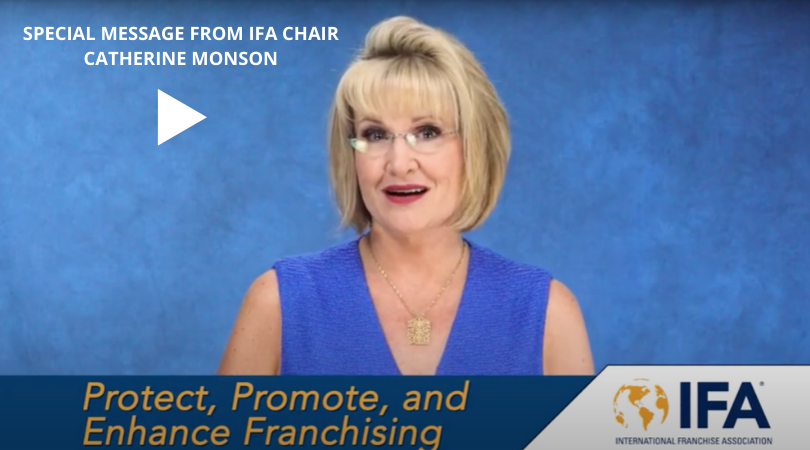 Special Message from IFA Chair Catherine Monson #14