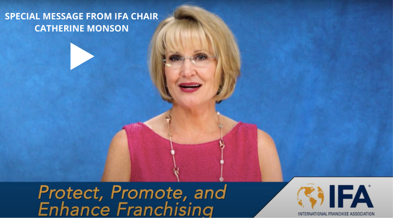 Special Message from IFA Chair Catherine Monson #23