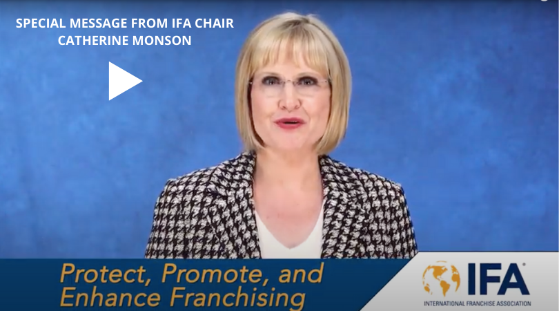 A Special Message from IFA Chair Catherine Monson 8