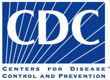 The centers for disease control and prevention logo.