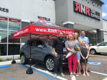 RNR tire Express Mothers Day Giveaway